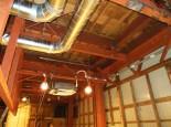②鉄骨耐震補強、設備工事