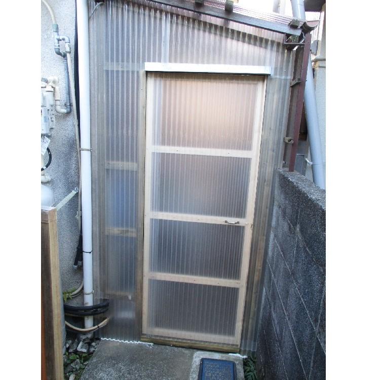倉庫ドアのリフォーム後の写真