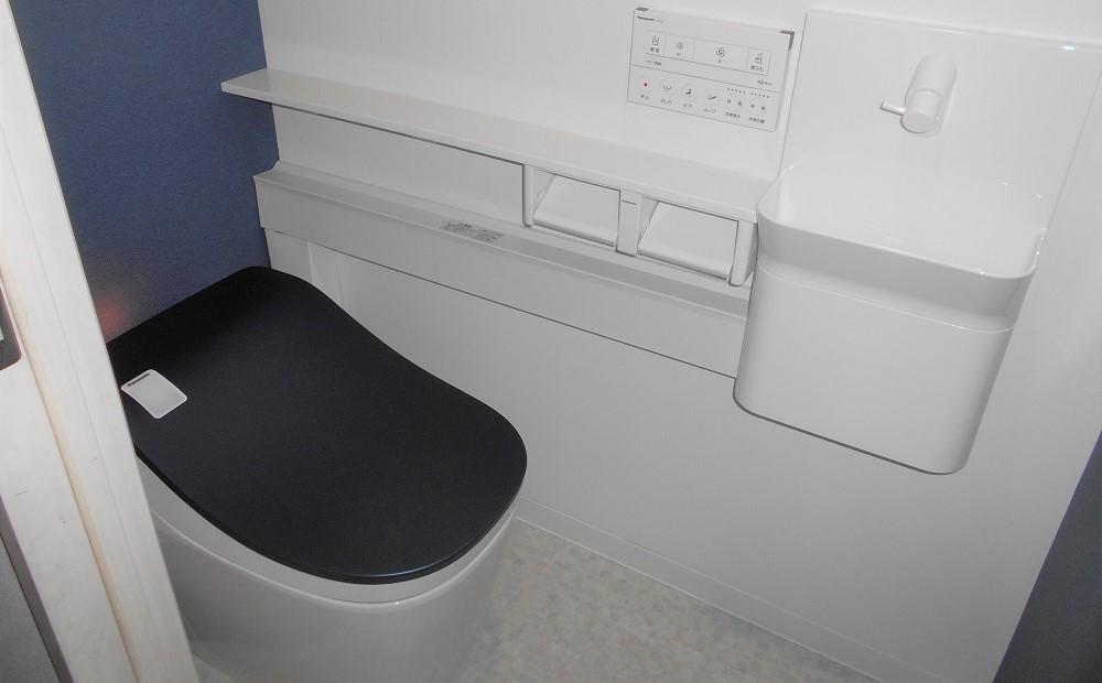トイレのリフォーム後の写真