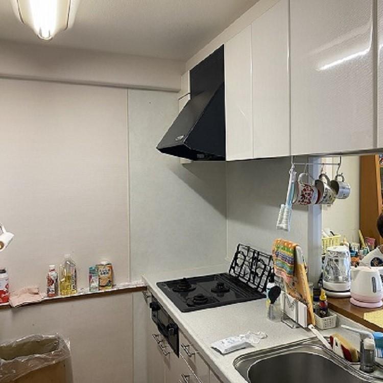 マンションのキッチンリフォーム前の写真