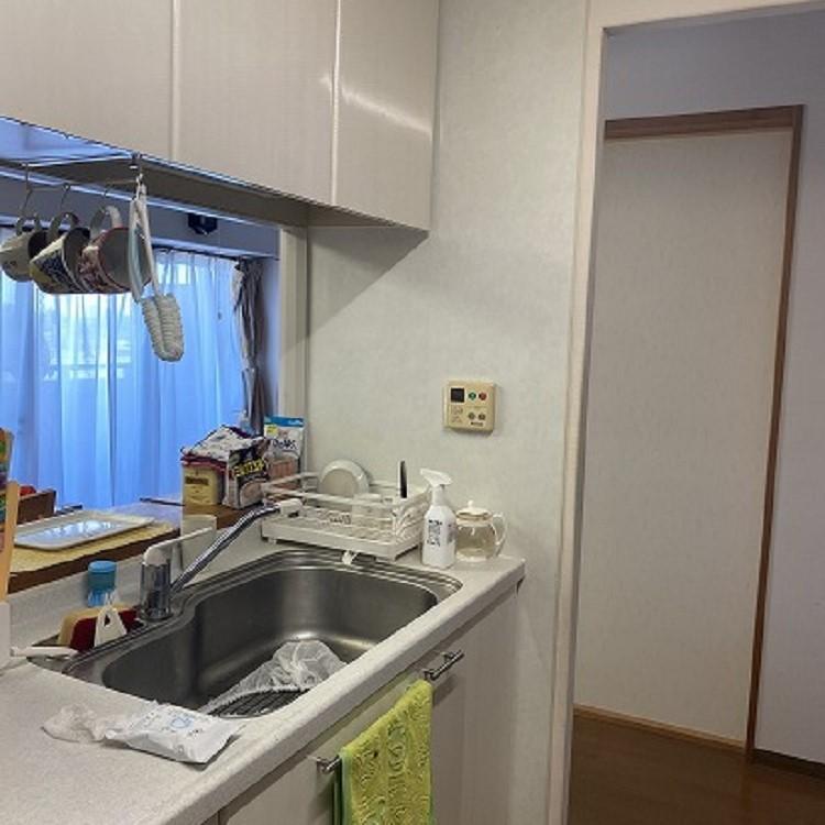 キッチンマンションリフォーム前の写真