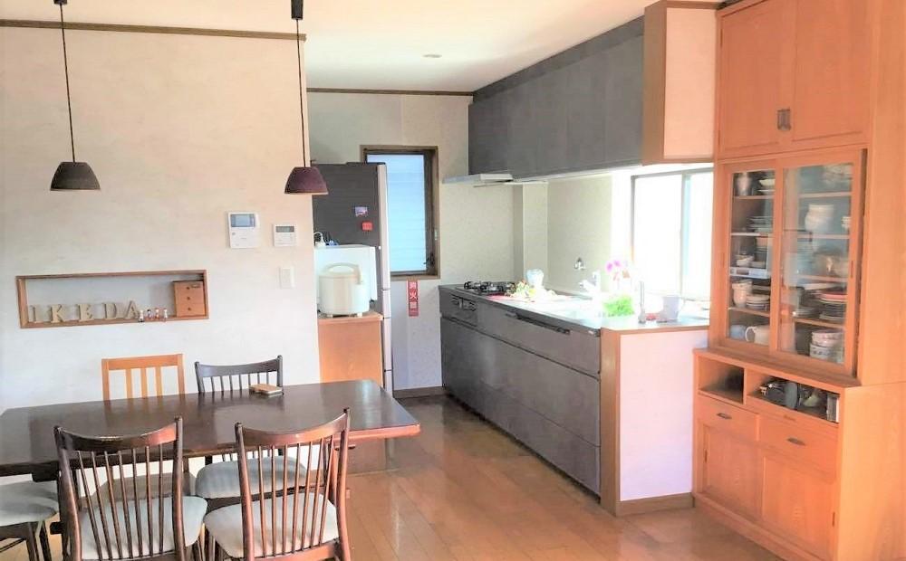キッチンリフォーム後の写真