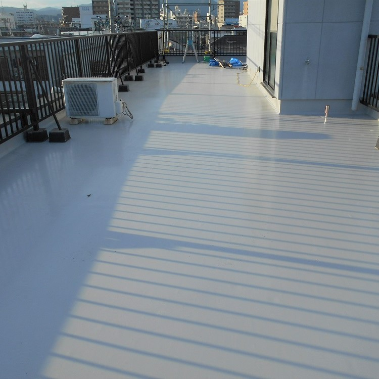 屋上防水リフォーム後の写真