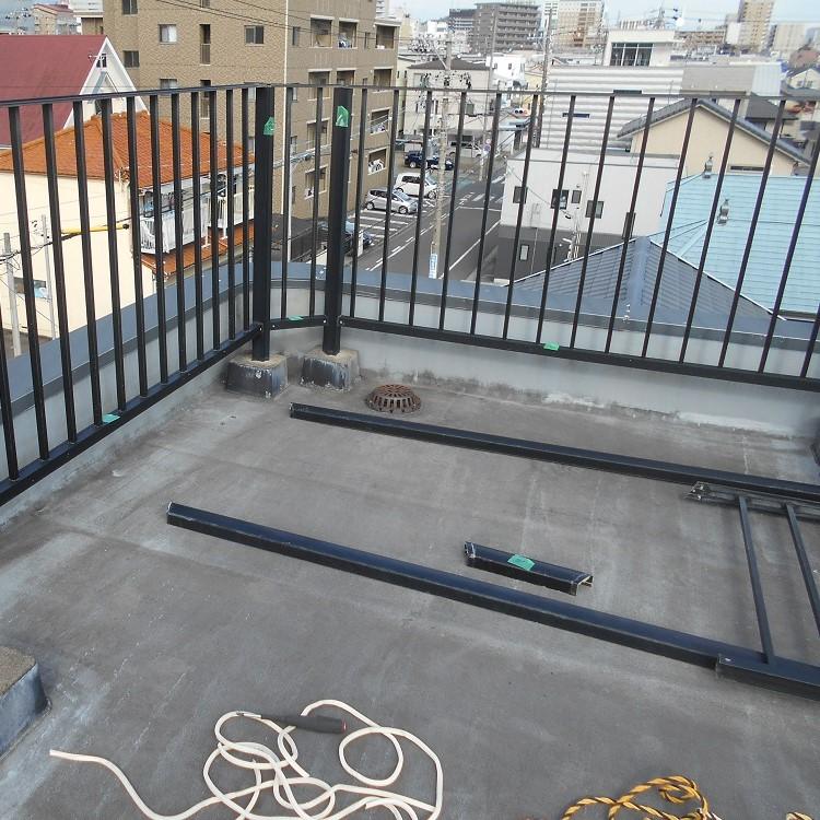 屋上リフォーム前の写真